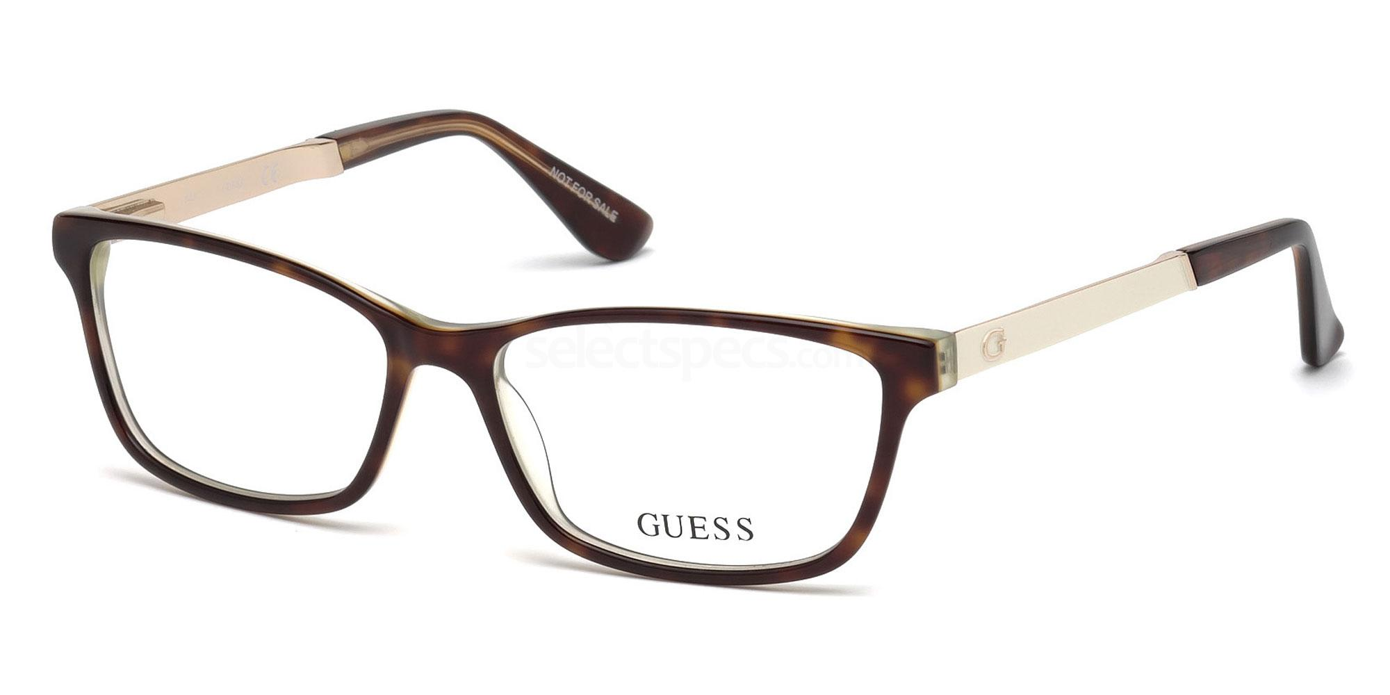 056 GU2628 Glasses, Guess