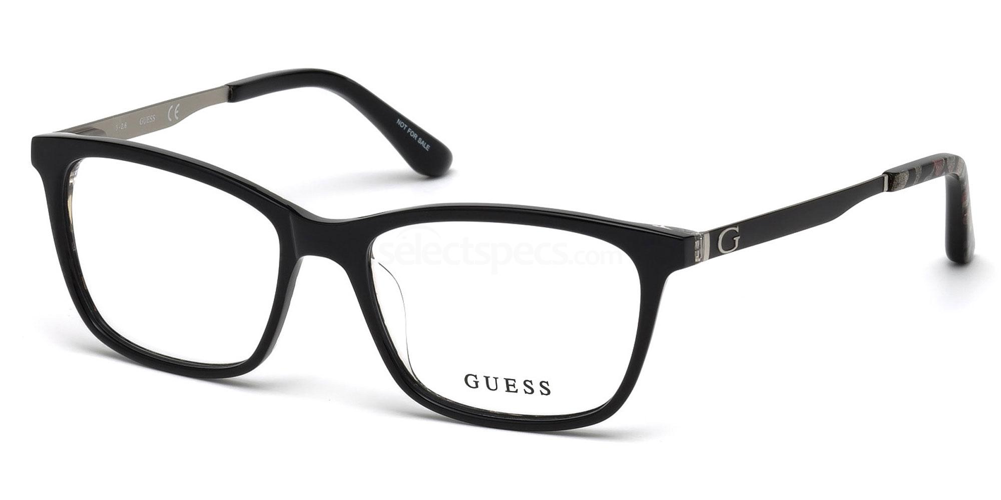 001 GU2630 Glasses, Guess