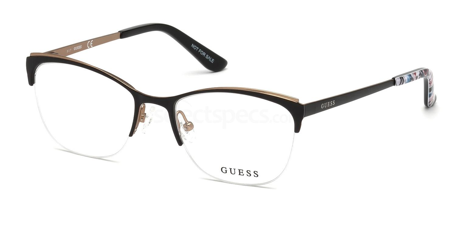 002 GU2642 Glasses, Guess