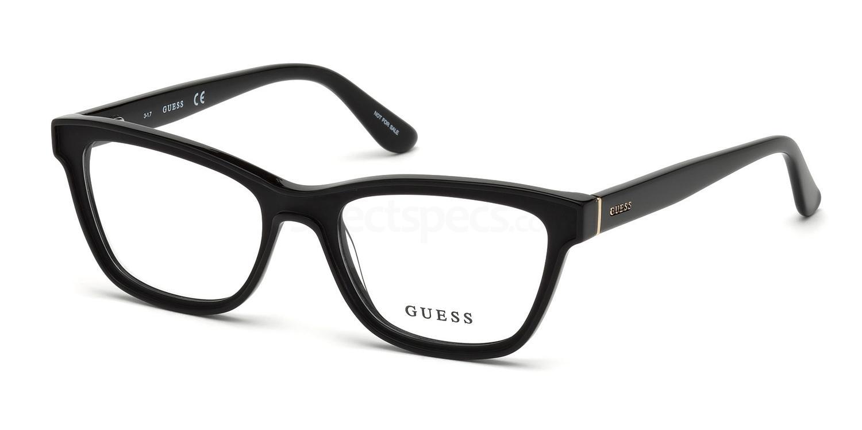 002 GU2649 Glasses, Guess
