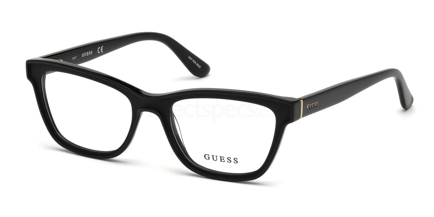 002 GU2649 Glasses, Guess