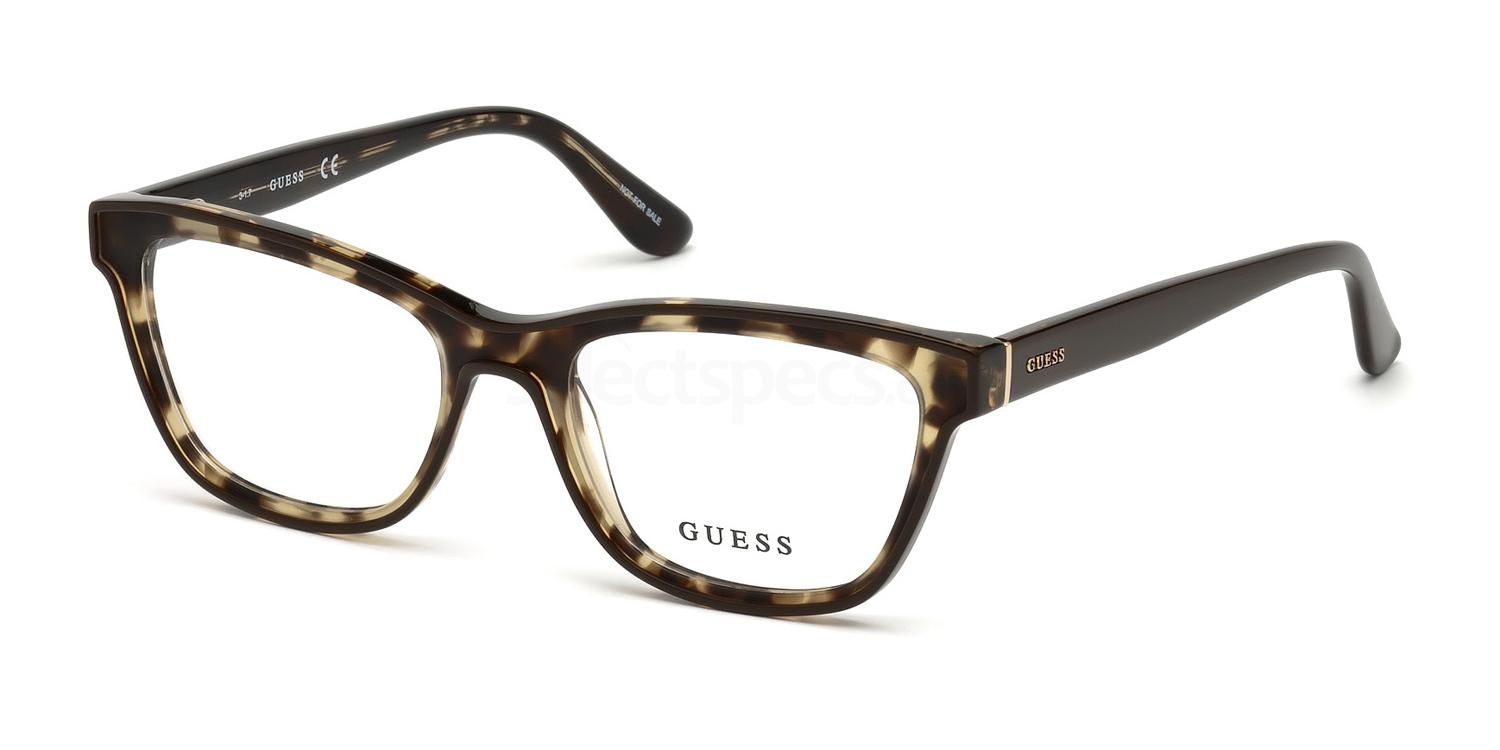 048 GU2649 Glasses, Guess