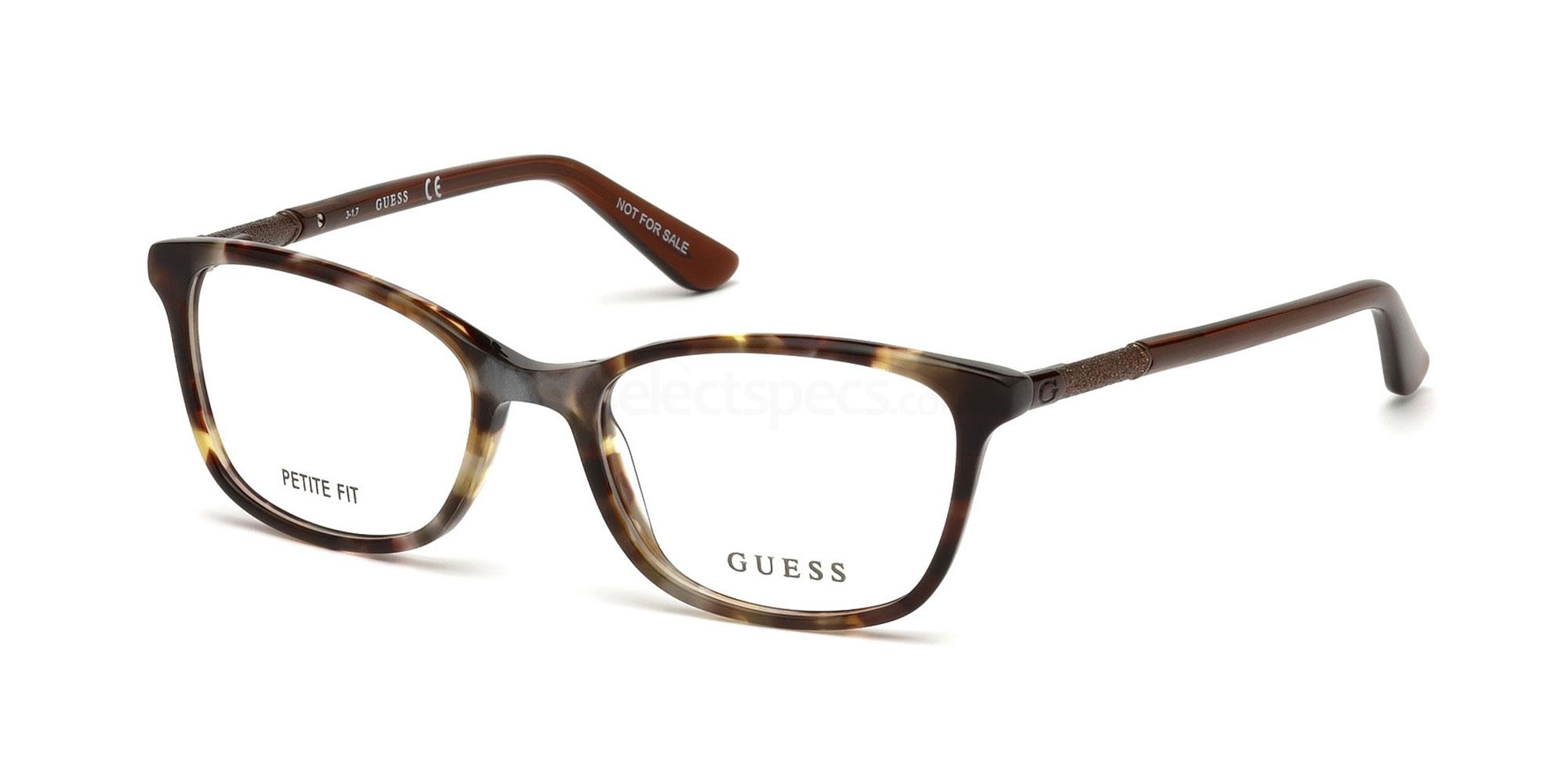 053 GU2658 Glasses, Guess