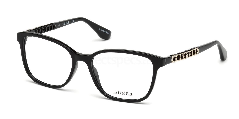 001 GU2661-S Glasses, Guess