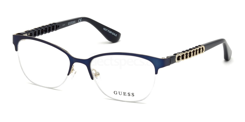 091 GU2662-S Glasses, Guess