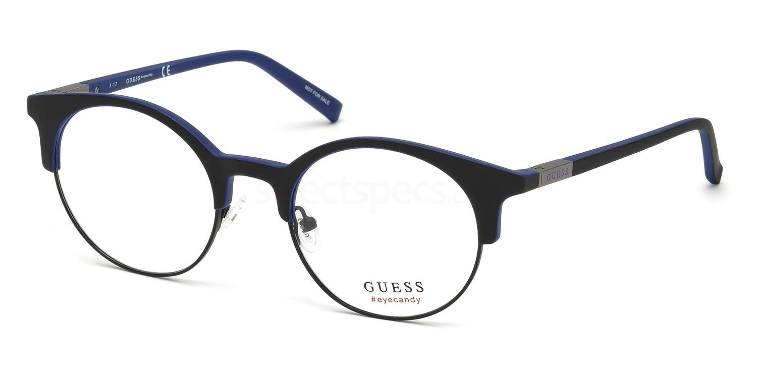 002 GU3025 Glasses, Guess