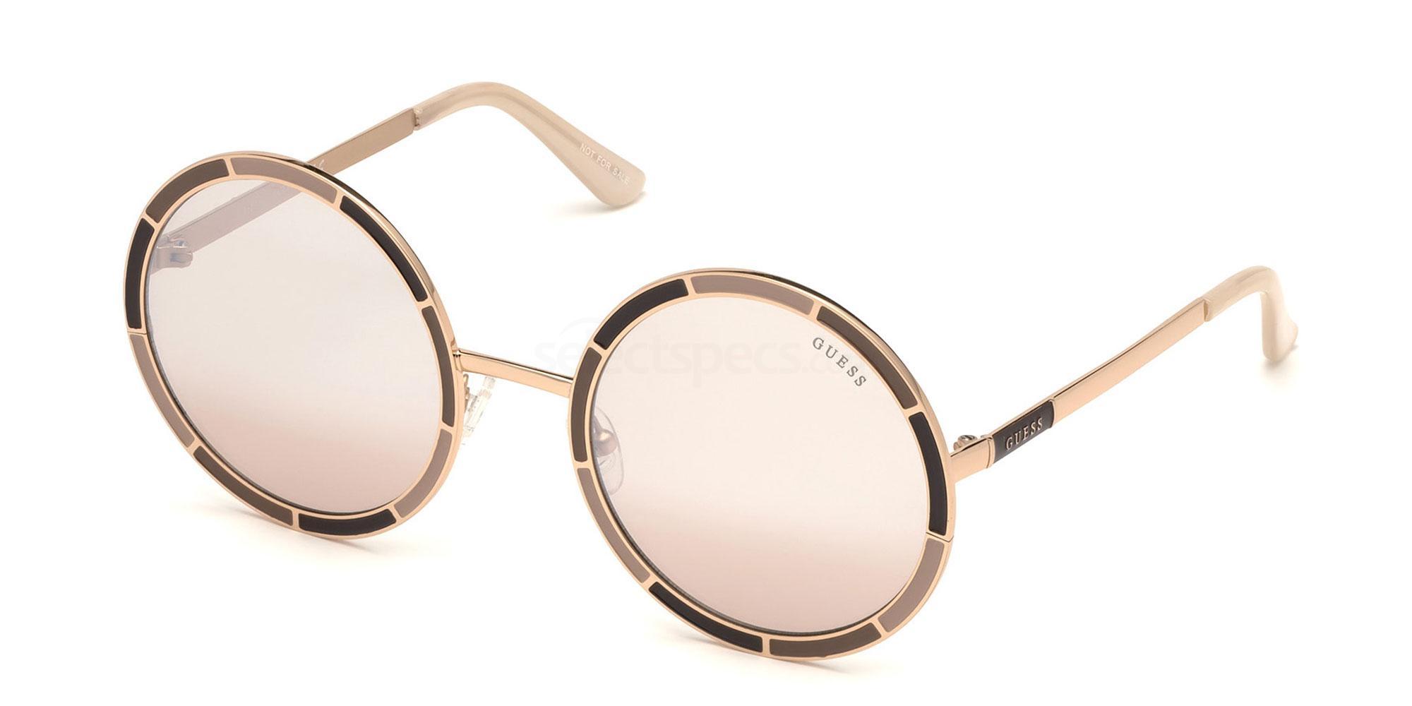 47U GU7584 Sunglasses, Guess