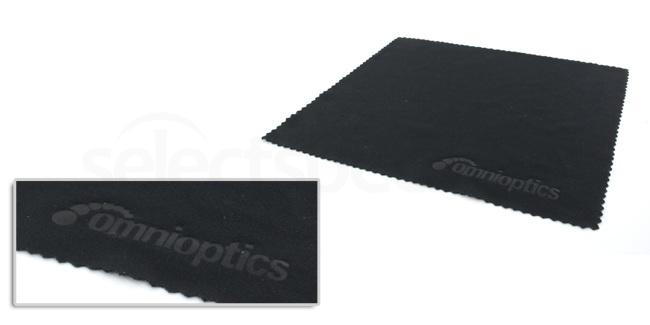 Black OmniOptics Soft Cleaning Cloth (Small) Accessories, Optical accessories