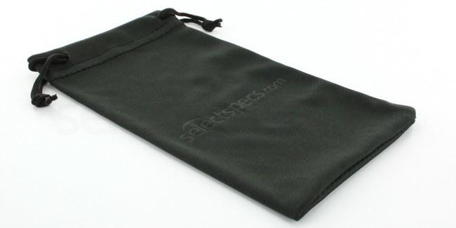 Black Black Soft Micro-Fibre Glasses Pouch/Cleaning Cloth Accessories, Optical accessories