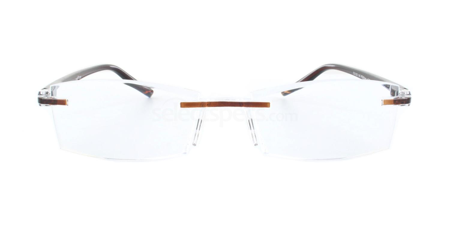 100 701 Reading Glasses - Brown Accessories, Optical accessories