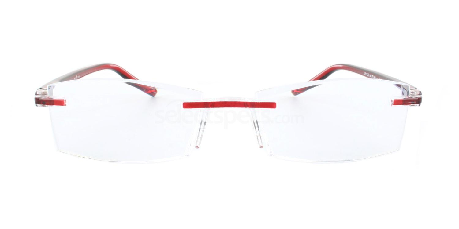 100 701 Reading Glasses - Burgundy Accessories, Optical accessories