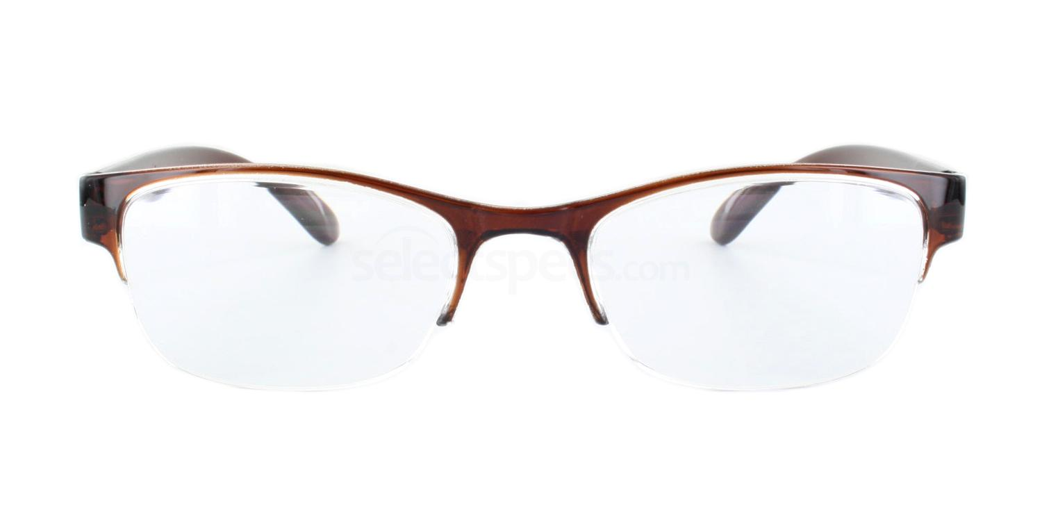 100 702 Reading Glasses - Brown Accessories, Optical accessories