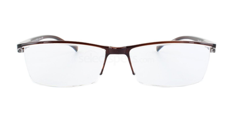 100 703 Reading Glasses - 2 Dark Brown Accessories, Optical accessories