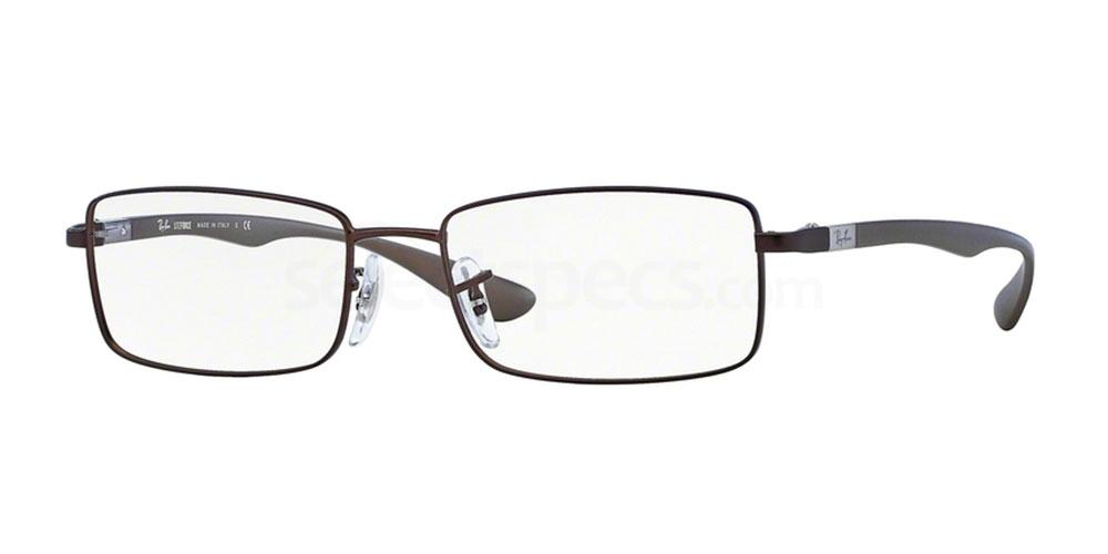 2758 RX6286 Glasses, Ray-Ban