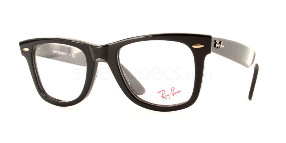 2ffe1c6a2bd Ray-Ban RX5121 - Original Wayfarer glasses. Free lenses   delivery ...