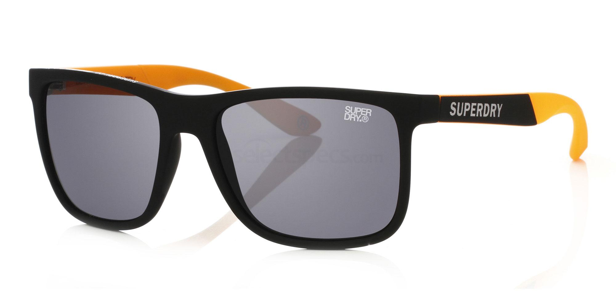 Superdry Runner 104 56 matte black orange / grey 03esadZH