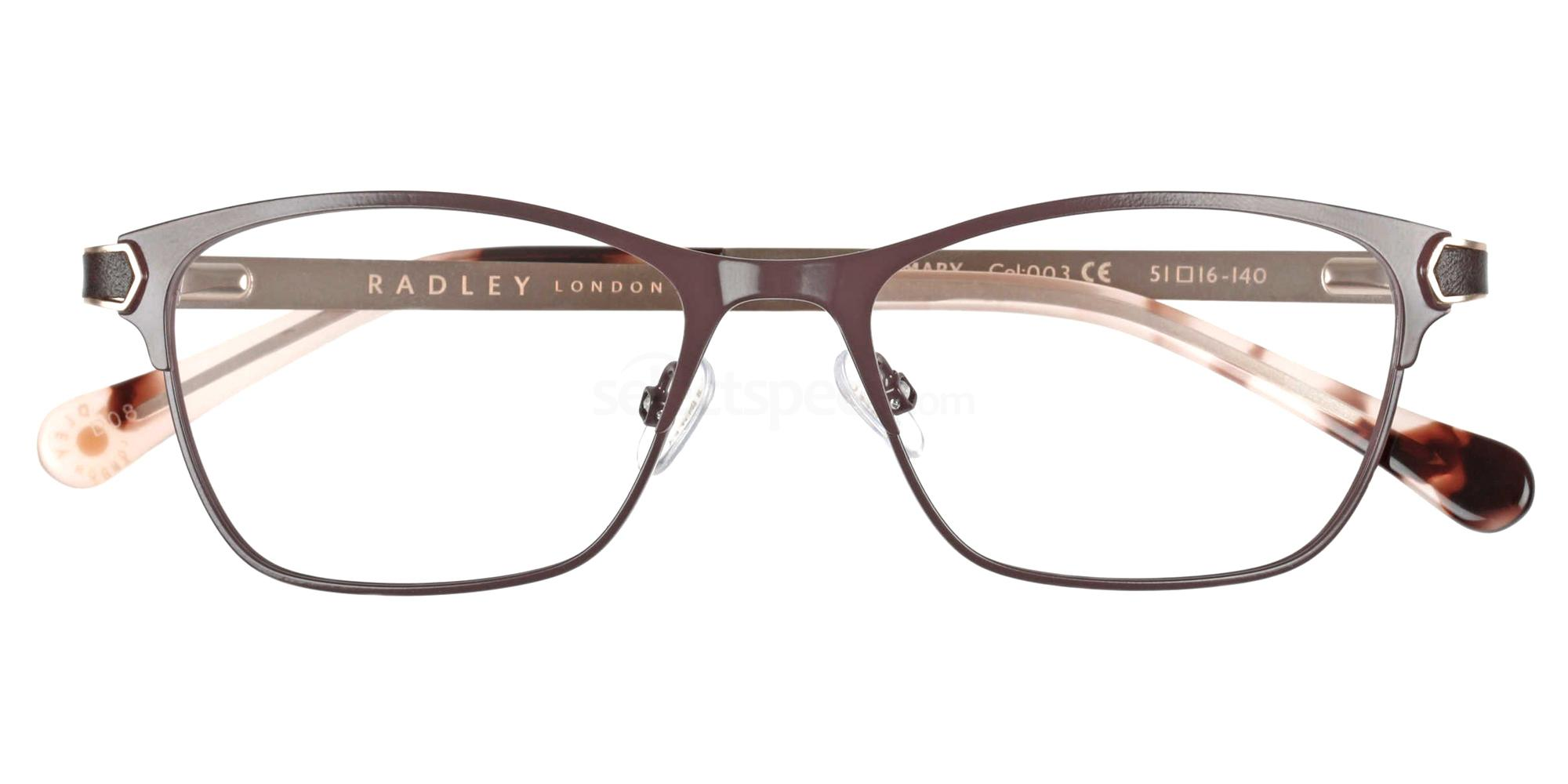 003 RDO-ROSEMARY Glasses, Radley London