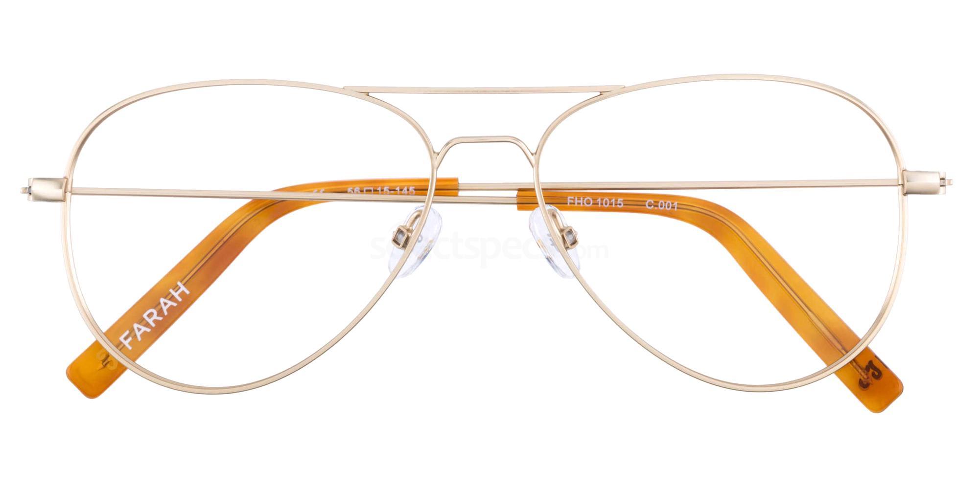 001 FHO-1015 Glasses, Farah