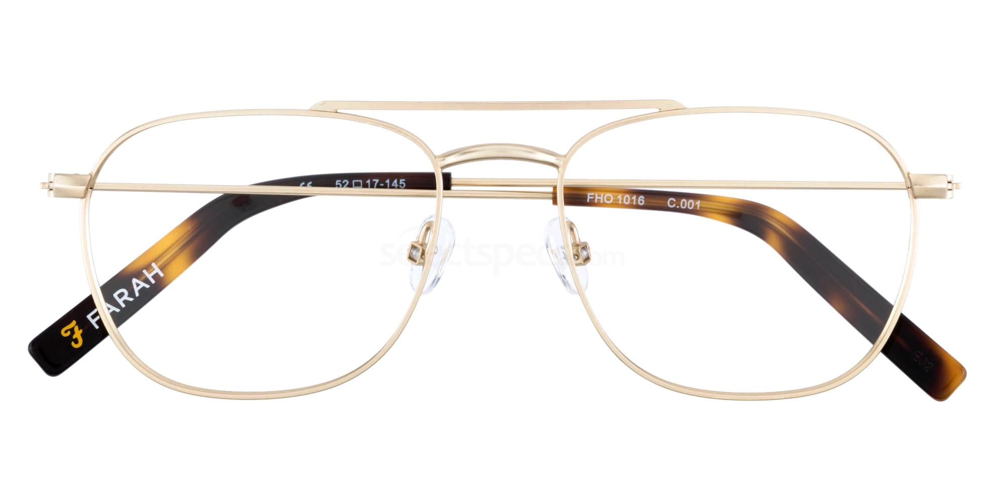 001 FHO-1016 Glasses, Farah