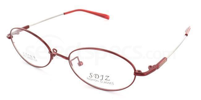 Red 2601 Glasses, SelectSpecs