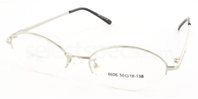 Silver 8606 Glasses, Stellar