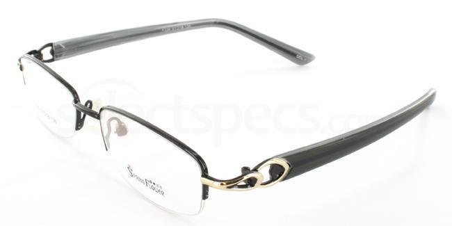 Black F338 Glasses, Stellar