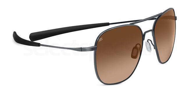 7977 Classics AERIAL Titanium Sunglasses, Serengeti