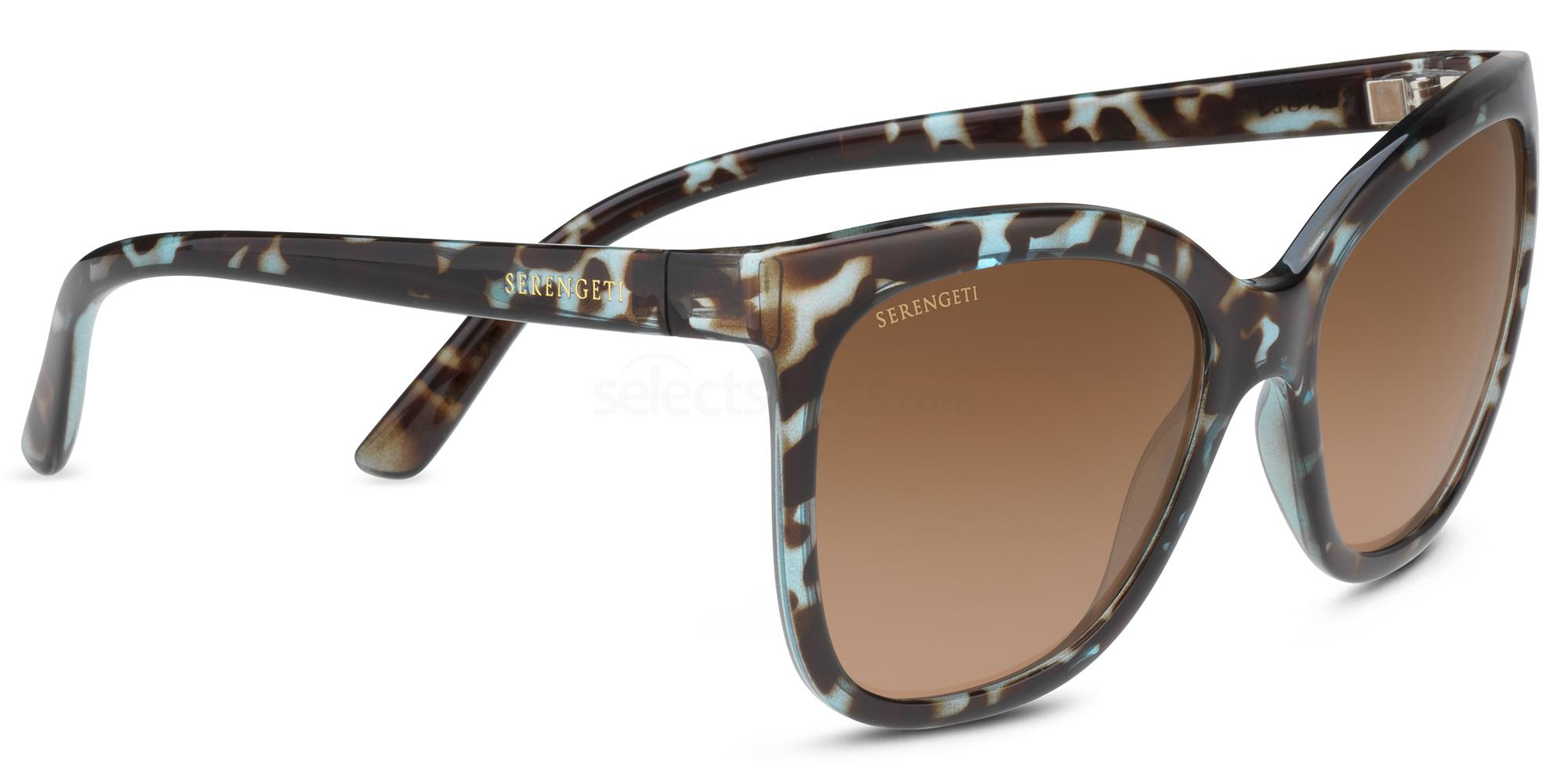 8777 AGATA Sunglasses, Serengeti