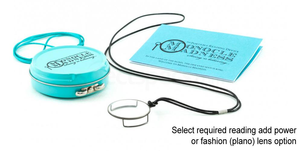 Clear Vintage Silver Monocle Accessories, Monocle Madness