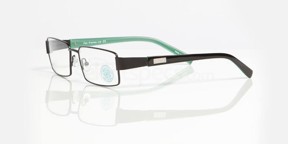 Black and Green CELTIC FC - OCE004 Glasses, Fan Frames