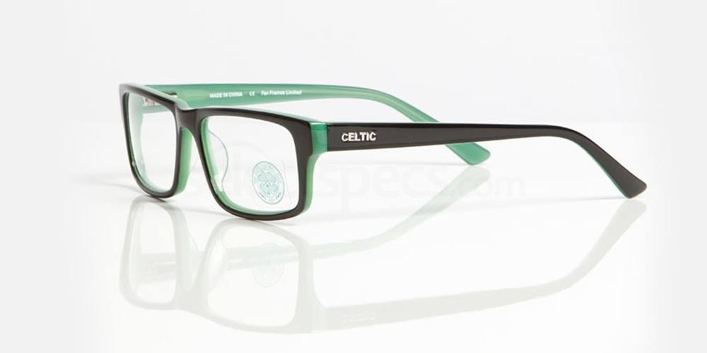 Black and Green CELTIC FC - OCE005 Glasses, Fan Frames