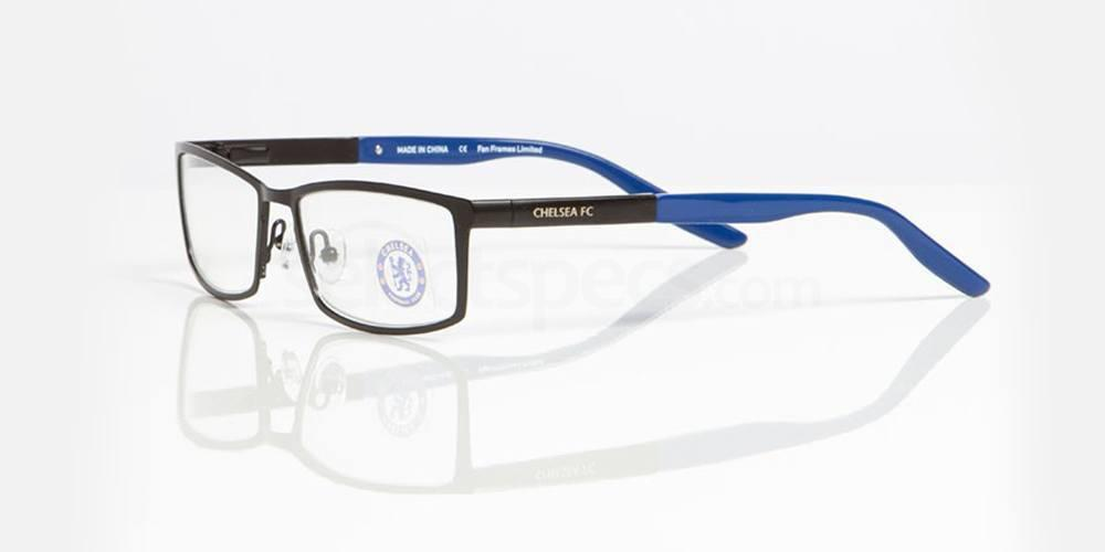 Matt Black and Gloss Blue CHELSEA FC - OCH006 Glasses, Fan Frames