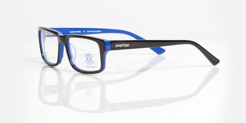 Black and Blue EVERTON FC - OEV005 Glasses, Fan Frames