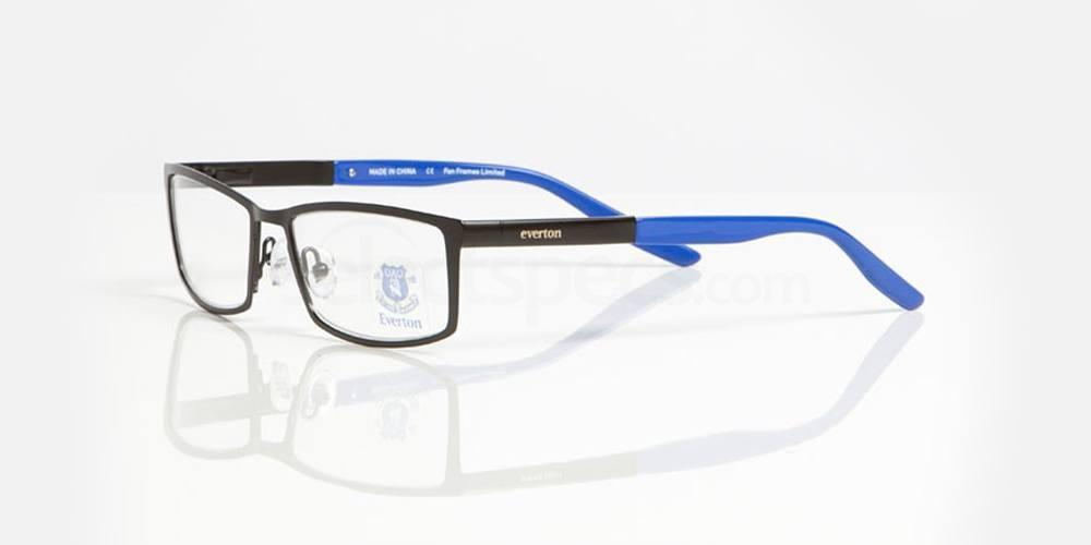 Matt Black and Gloss Blue EVERTON FC - OEV006 Glasses, Fan Frames