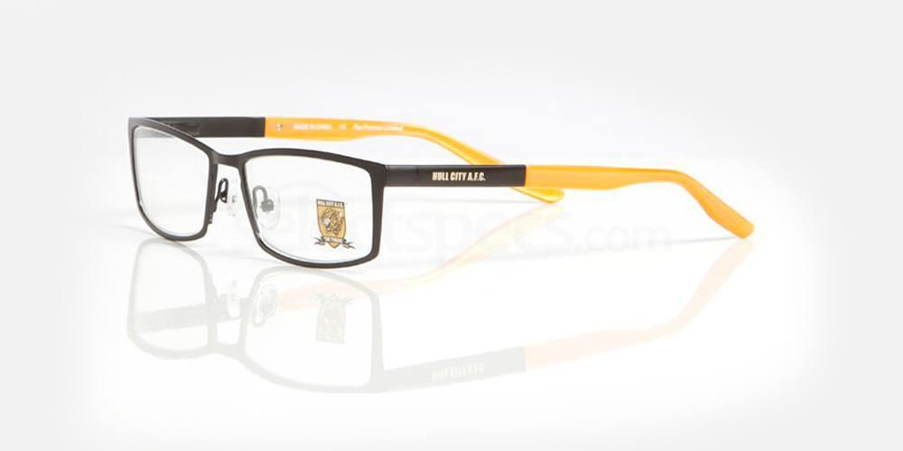 Matt Black and Amber Gloss HULL CITY AFC - OHU006 Glasses, Fan Frames