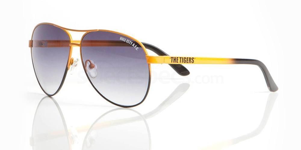 Hull City Black and Amber HULL CITY AFC - SHU001 Sunglasses, Fan Frames