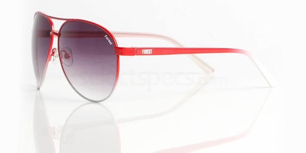 Nottingham Forest Red and White NOTTS FOREST - SNO001 Sunglasses, Fan Frames