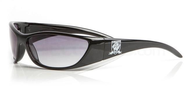 Hull City Black HULL CITY AFC - SHU004 Sunglasses, Fan Frames