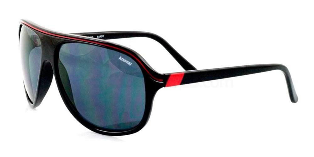 Arsenal Black and Red Arsenal FC - SAR011 Carrera , Fan Frames