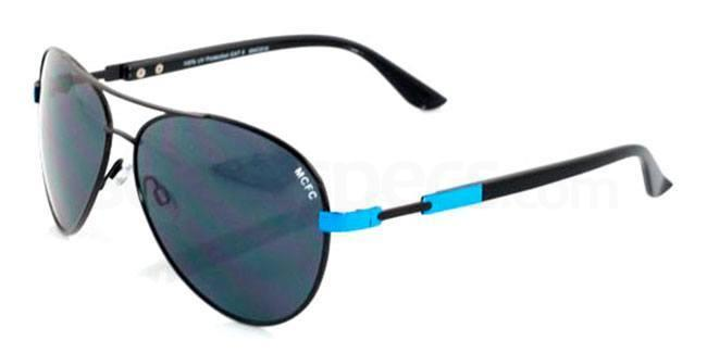 Manchester City Black and Sky Manchester City - SMC010 Aviators , Fan Frames