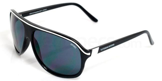 Tottenham Hotspurs Black and White Tottenham Hotspurs - STH011 Carrera Sunglasses, Fan Frames