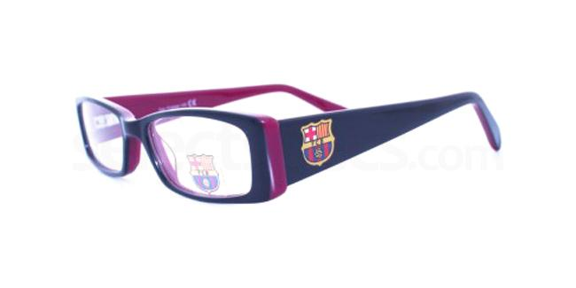 Purple FC Barcelona - OFCB002 , Fan Frames KIDS