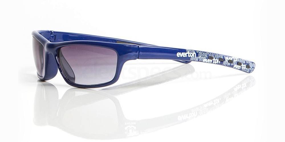 Everton Blue EVERTON FC - SEV005 - Junior/Teen Sunglasses, Fan Frames KIDS