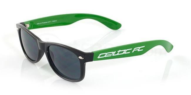 Celtic Black and Green CELTIC FC - SCE014 - Junior/Teen Sunglasses, Fan Frames KIDS