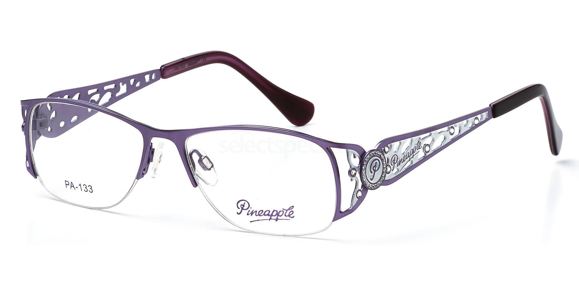 C1 PN133 Glasses, Pineapple