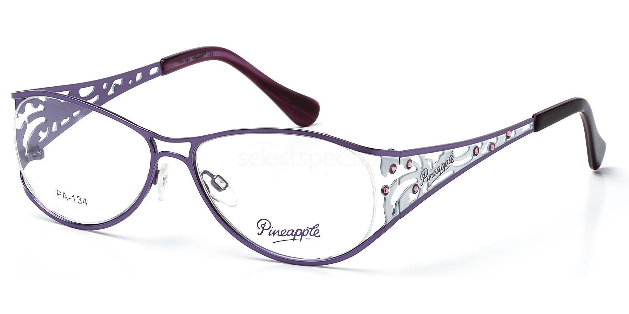 C1 PN134 Glasses, Pineapple