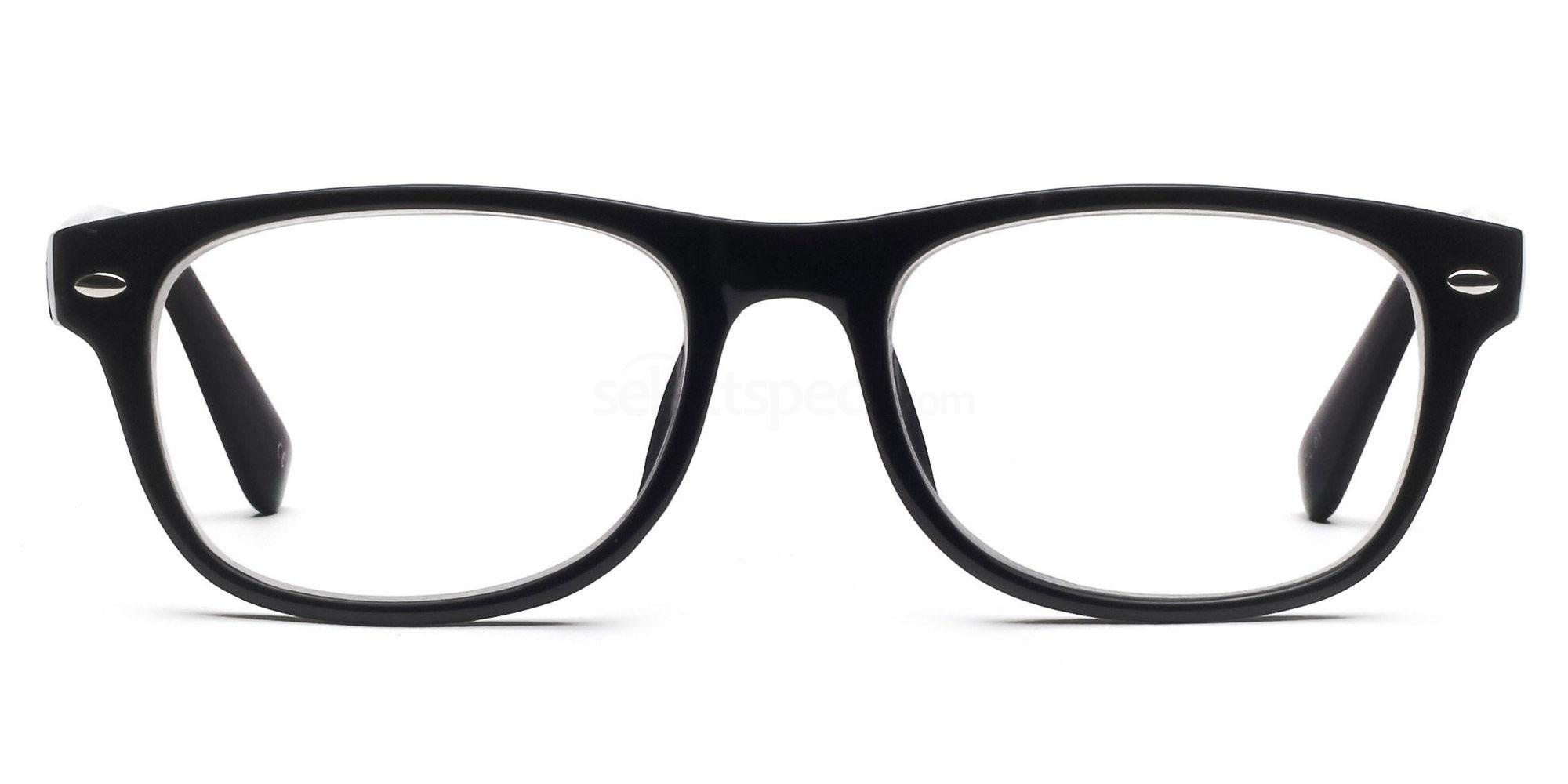 Black P2383 - Black Glasses, Savannah
