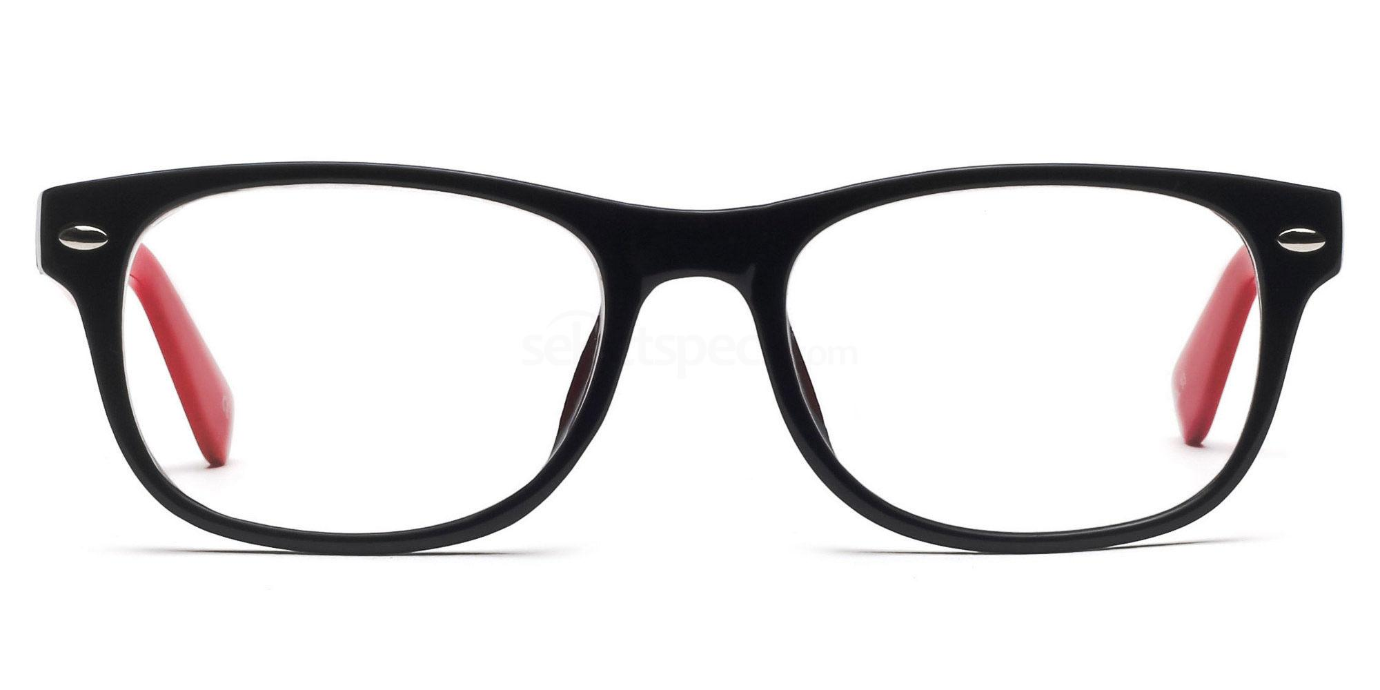 Black and Red P2383 - Black and Red Glasses, SelectSpecs