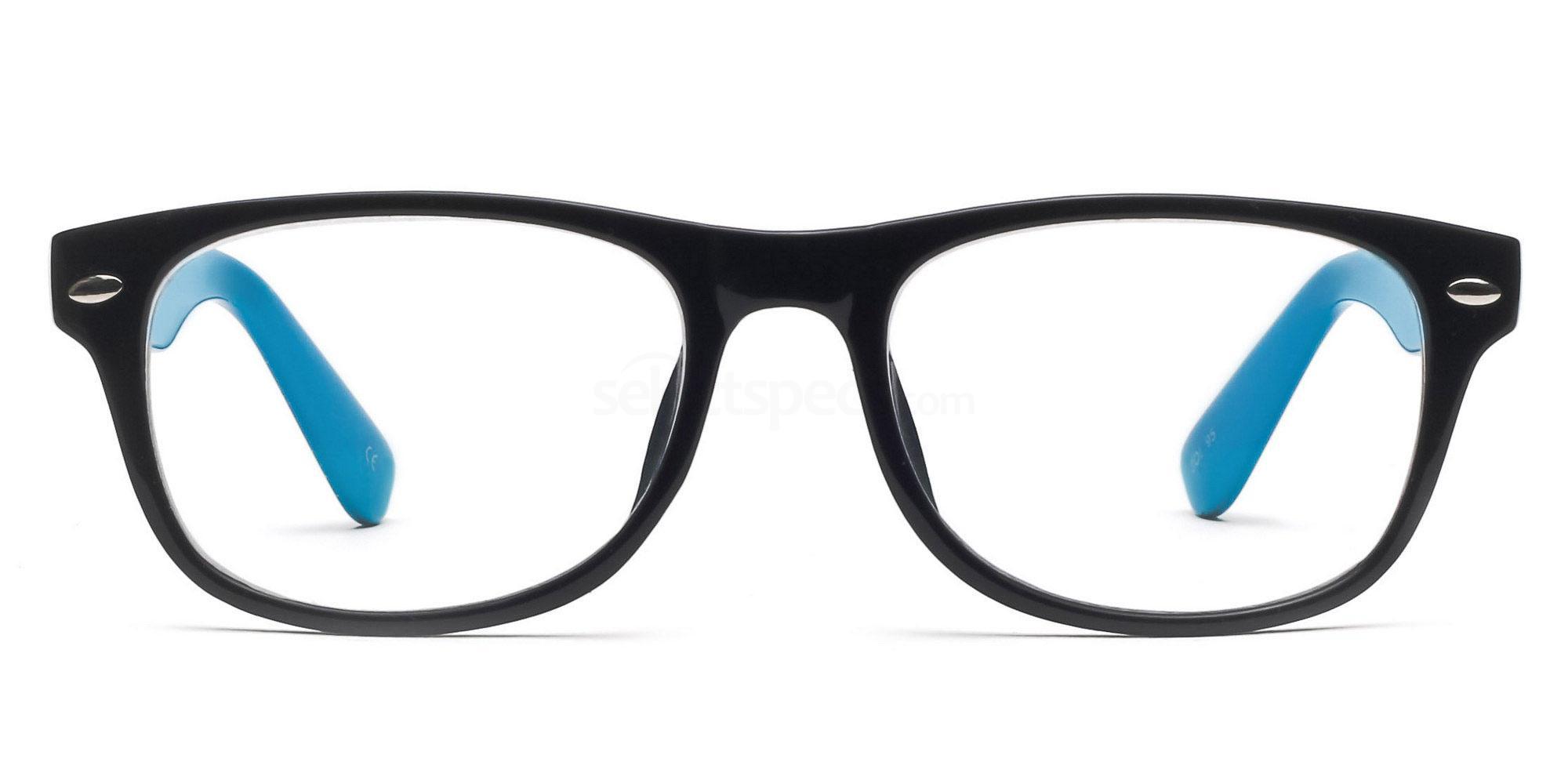 Black and Blue P2383 - Black and Blue Glasses, Savannah