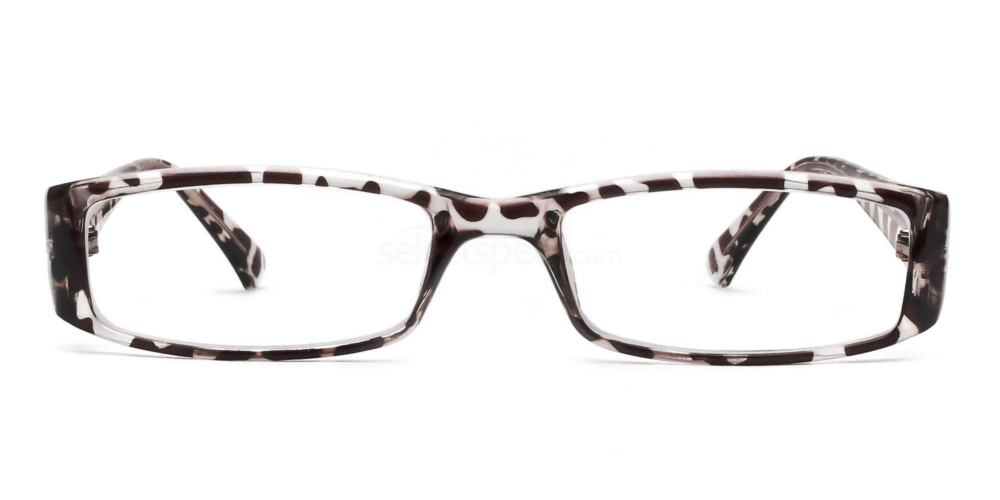 C03 P2251 - Animal Print Glasses, Savannah
